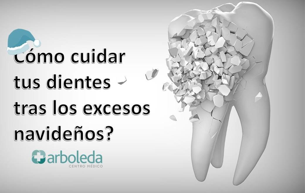 ¿Cómo cuidar tus dientes tras los excesos navideños?
